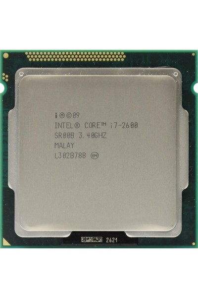 INTEL CORE i7-2600 3.40GHZ TURBO 3.80GHZ CPU TRAY SR00B BULK PERFECT TESTED WORK