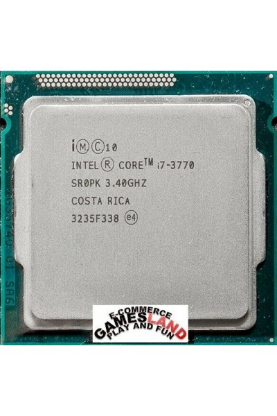 INTEL CORE i7-3770 3.40GHZ TURBO 3.90GHZ CPU SR0PK PERFECT TESTED WORK LGA 1155