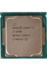 INTEL CORE i7-8700 6 CORE 3.20GHZ-4.60GHZ CPU TRAY SR3QS 8TH GEN GARANZIA 1 ANNO