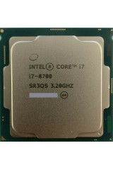 INTEL CORE i7-8700 6 CORE 3.20GHZ - 4.60GHZ CPU TRAY SR3QS 8TH GEN PARI AL NUOVO