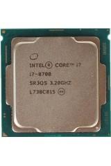 INTEL CORE i7-8700 6 CORE 3.20GHZ-4.60GHZ CPU TRAY SR3QS 8TH GEN PARI AL NUOVO