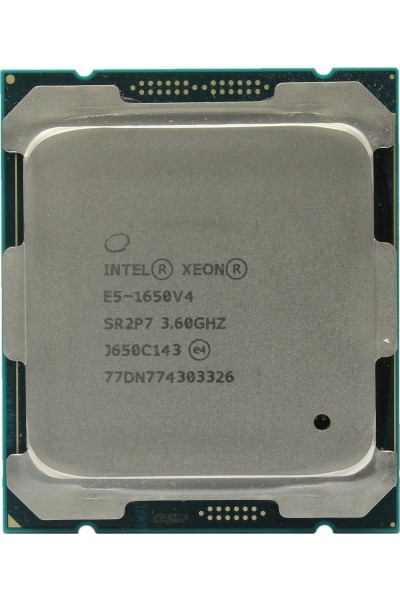 INTEL XEON E5-1650 V4 3.6GHZ TURBO 4.0GHZ PROCESSORE NUOVO TRAY SR2P7 LGA2011-3