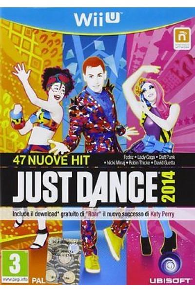 JUST DANCE 2014 PER NINTENDO Wii U NUOVO UFFICIALE ITALIANO