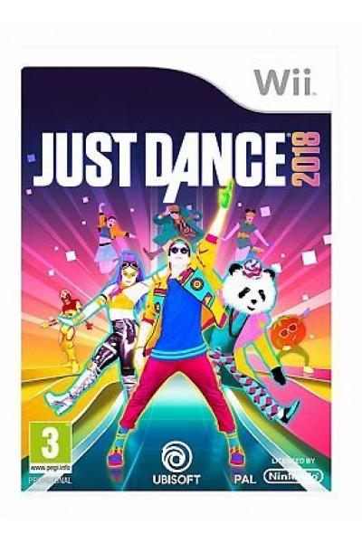 JUST DANCE 2018 PER NINTENDO Wii NUOVO PRODOTTO UFFICIALE ITALIANO