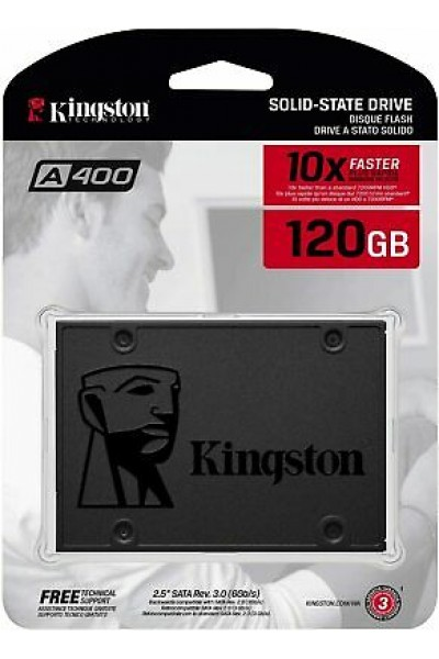 KINGSTON A400 SSD 120GB SATA III 2,5