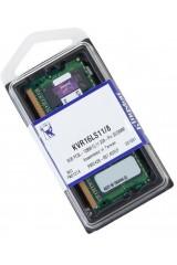 KINGSTON DDR3 RAM LAPTOP 1600 MHZ 8GB PC3L 12800 CL11 204 PIN SODIMM KVR16LS11/8