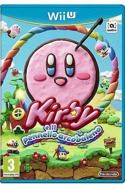 KIRBY E IL PENNELLO ARCOBALENO PER NINTENDO Wii U NUOVO UFFICIALE ITALIANO