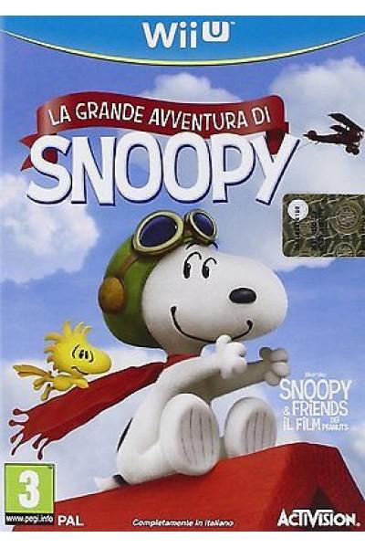 LA GRANDE AVVENTURA DI SNOOPY PER NINTENDO WiiU NUOVO UFFICIALE ITALIANO