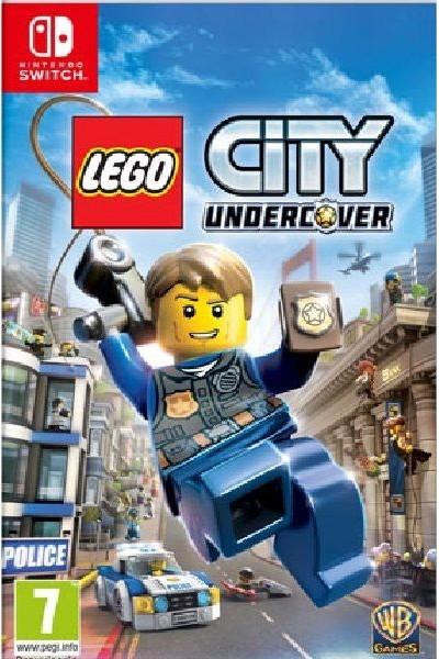 LEGO CITY UNDERCOVER PER NINTENDO SWITCH NUOVO UFFICIALE ITALIANO