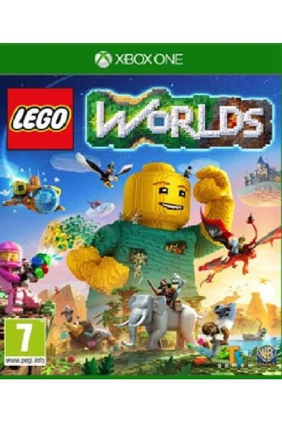 LEGO WORLDS PER XBOX ONE NUOVO PRODOTTO UFFICIALE ITALIANO