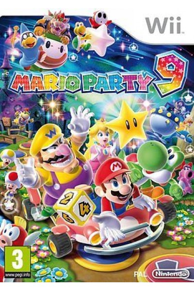 MARIO PARTY 9 PER NINTENDO Wii NUOVO IN ITALIANO