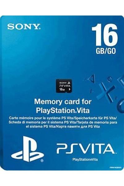 MEMORY CARD 16 GB SONY PS VITA NUOVA ORIGINALE PRODOTTO UFFICIALE SONY