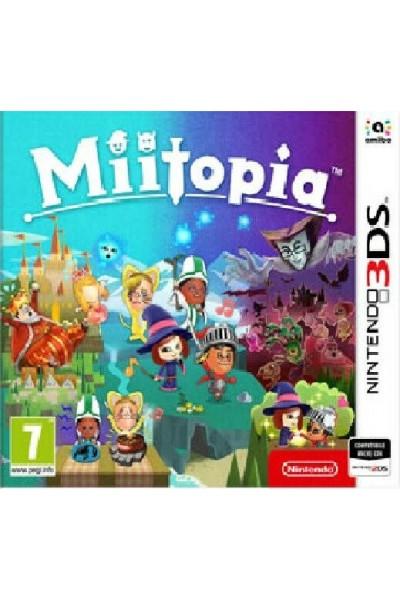 MIITOPIA PER NINTENDO 3DS-2DS NUOVO UFFICIALE ITALIANO