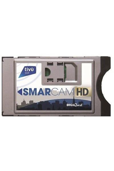 MODULO CAM DIGIQUEST HD PER TIVU'SAT PER TV E DECODER CERTIFICATI TIVU'SAT HD