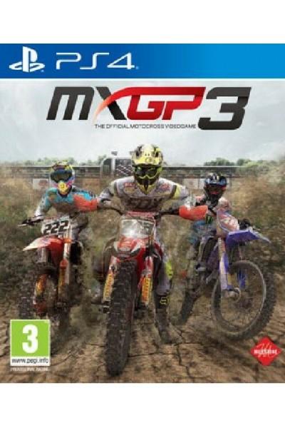 MXGP 3:THE OFFICIAL MOTOCROSS VIDEOGAME PER SONY PS4 PRODOTTO UFFICIALE ITALIANO