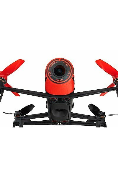 PARROT BEBOP DRONE ROSSO INCLUDE FOTOCAMERA 14 MEGAPIXEL FULL HD 1080P
