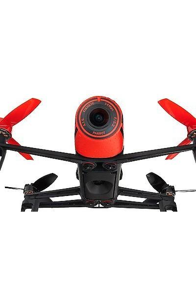 PARROT BEBOP DRONE ROSSO INCLUDE FOTOCAMERA 14 MEGAPIXEL FULL HD 1080P
