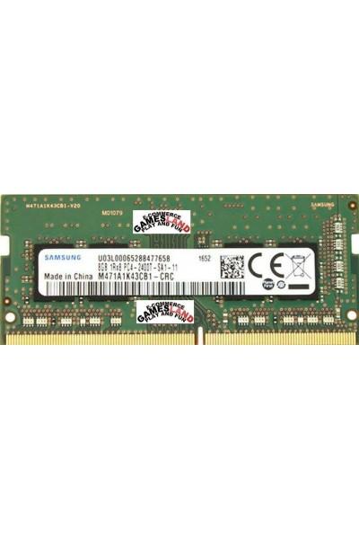 SAMSUNG DDR4 RAM LAPTOP 2400 MHZ 8GB 1RX8 PC4 2400T-SA1-11 M471A1K43CB1-CRC