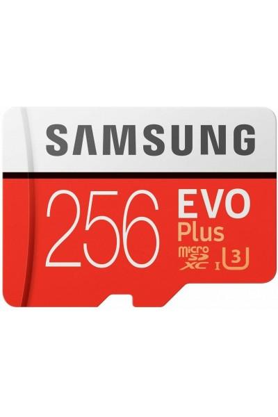 SAMSUNG MICROSDXC 256 GB U3 4K PRODOTTO UFFICIALE ITALIANO CLASSE 10 ORIGINALE
