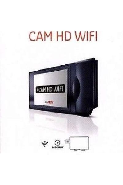 SMART CAM HD UNIVERSALE WIFI 4K FULL HD PER MEDIASET PREMIUM TESSERA NON INCLUSA