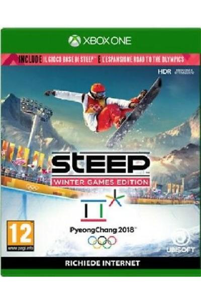 STEEP WINTER GAMES EDITION PER XBOX ONE NUOVO PRODOTTO UFFICIALE ITALIANO