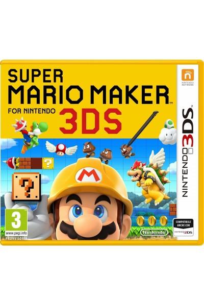 SUPER MARIO MAKER PER NINTENDO 3DS E 2DS NUOVO UFFICIALE ITALIANO ULTIMO PEZZO