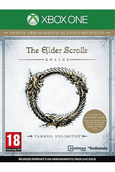 THE ELDER SCROLL ONLINE PER XBOX ONE NUOVO PRODOTTO UFFICIALE ITALIANO