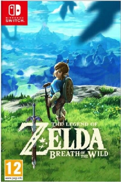 THE LEGEND OF ZELDA BREATH OF THE WILD PER NINTENDO SWITCH UFFICIALE ITALIANO