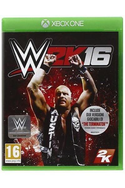 WWE 2K16 PER XBOX ONE NUOVO UFFICIALE ITALIANO