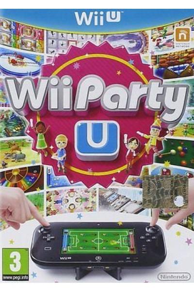 Wii PARTY U PER NINTENDO Wii U NUOVO SIGILLATO PRODOTTO UFFICIALE ITALIANO
