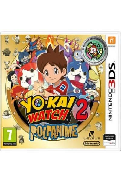 YO-KAI WATCH 2 POLPANIME PER NINTENDO 3DS NUOVO PRODOTTO UFFICIALE ITALIANO