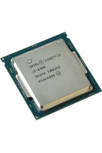 INTEL CORE i3-6300 TRAY 3.80GHZ 6TH GEN.CPU SR2HA NUOVO BULK PRODOTTO ORIGINALE