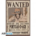 "ONE PIECE - Poster ""Wanted Portgas-D-Ace"" (91.5x61)"