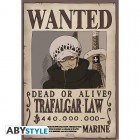"ONE PIECE - Poster ""Wanted Trafalgar Law"" (91.5x61)"