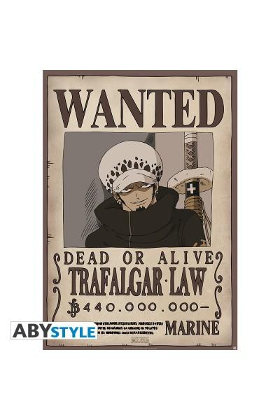 """ONE PIECE - Poster """"""""Wanted Law"""""""" (dimensioni 91.5 x 61 cm)Prodotto Originale su licenza ufficiale"""
