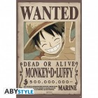 "ONE PIECE - Poster ""Wanted Monkey-D- Luffy"" (91.5x61)"